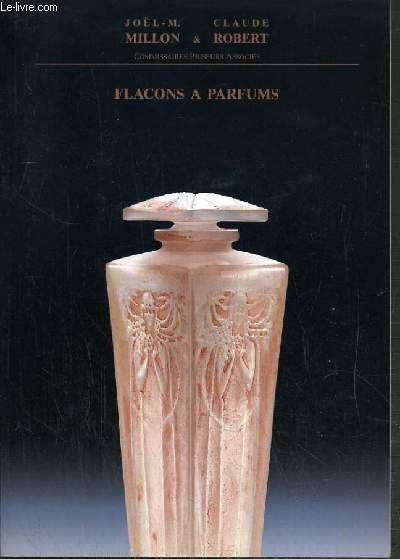 CATALOGUE DE VENTE AUX ENCHERES - DROUOT RICHELIEU - FLACONS A PARFUMS - 6 DECEMBRE 1991.