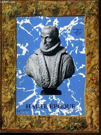 CATALOGUE DE VENTE AUX ENCHERES - NOUVEAU DROUOT - HAUTE EPOQUE - SALLE 1 - 10 NOVEMBRE 1983.