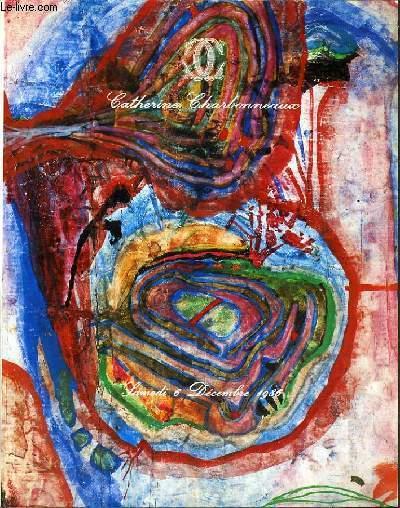 CATALOGUE DE VENTE AUX ENCHERES - DROUOT - ART  CONTEMPORAIN - TABLEAUX ABSTRAITS - SCULPTURES DES ANNEES 1950 - SALLES 1 et 7 - 6 DECEMBRE 1986.