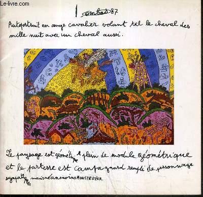 CATALOGUE DE VENTE AUX ENCHERES - DROUOT RICHELIEU - TABLEAUX CONTEMPORAINS ET DE JEUNES ARTISTES - MOBILIER ET SCULPTURES D'AVANT-GARDE - SALLE 7 - 30 MARS 1989.