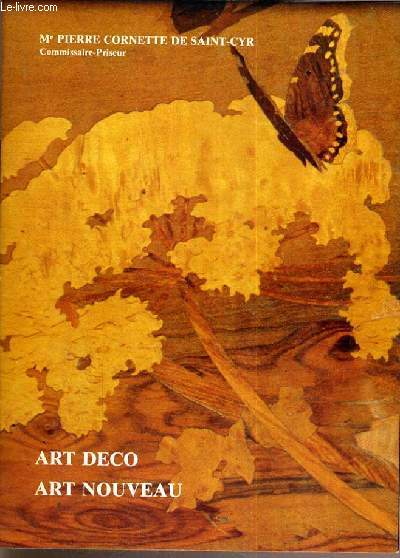 CATALOGUE DE VENTE AUX ENCHERES - NOUVEAU DROUOT - ART NOUVEAU - ART DECO - SALLE 3 - 3 MARS 1982.