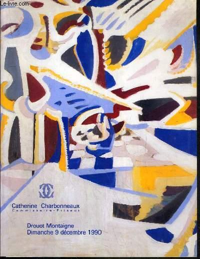 CATALOGUE DE VENTE AUX ENCHERES - DROUOT MONTAIGNE - NEW YORK 80'S - ART CONTEMPORAIN - 9 DECEMBRE 1990.