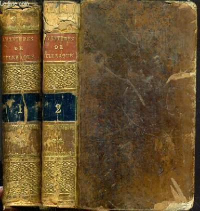 LES AVENTURES DE TELEMAQUE, FILS D'ULYSSE - TOME 1 et 2 / TOME I - du livre Ier à XIIème - TOME 2 - du livre XIIIème à XXIVème.