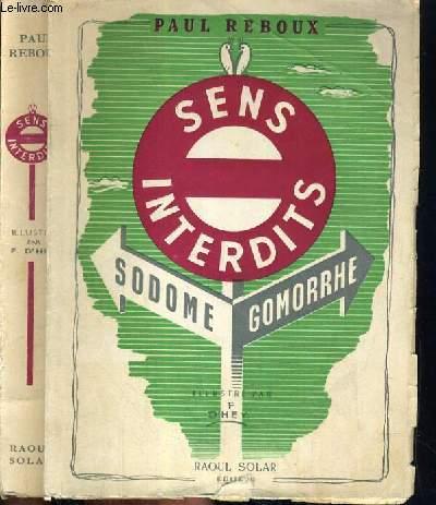 SENS INTERDITS - SODOME - GOMORRHE