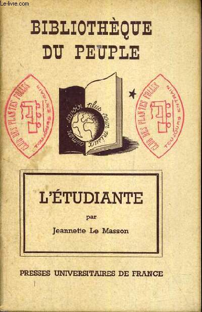 L'ETUDIANTE / BIBLIOTHEQUE DU PEUPLE