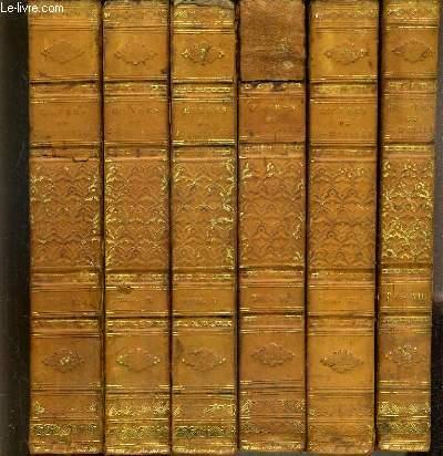 OEUVRES DE J. DELILLE - 12 TOMES - DU TOME 3 à 16 - INCOMPLET - MANQUE LE TOME 1-2-10-11.