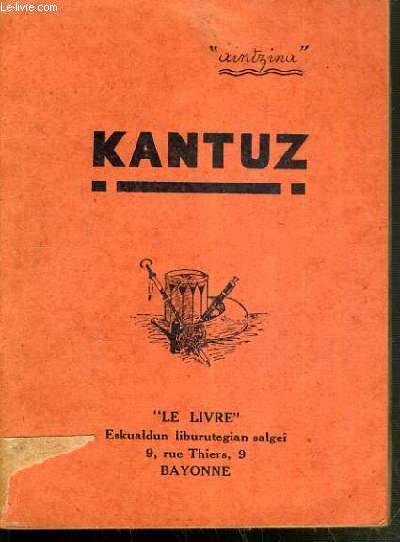 KANTUZ / TEXTE EN BASQUE