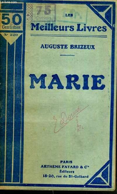 MARIE / LES MEILLEURS LIVRES N°320