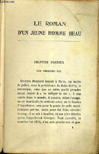 LE ROMAN D'UN JEUNE HOMME BEAU