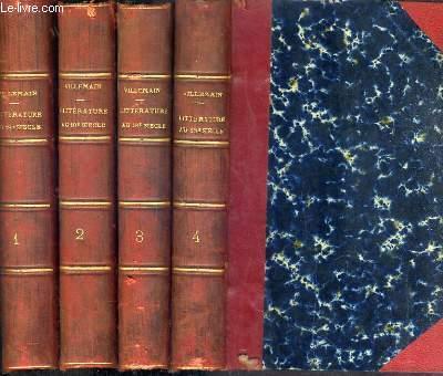 COURS DE LITTERATURE FRANCAISE - EN 4 TOMES - DU 1 à 4.