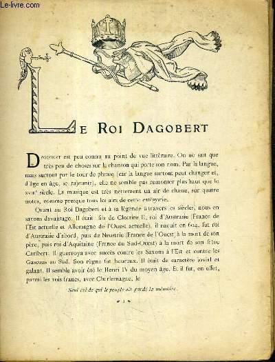 3 ROMANS EN 1 OUVRAGE: LE ROI DAGOBERT - CADET ROUSSELLE - MALBROUGH.