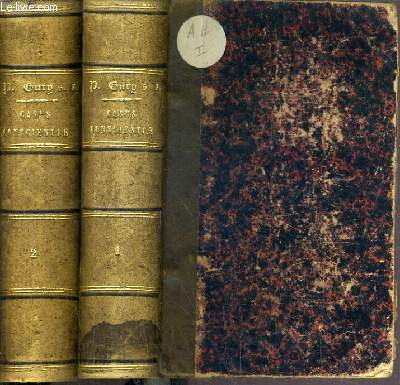 CASUS CONSCIENTIAE IN PRAECIPUAS QUAESTIONES THEOLOGIAE MORALIS - 2 TOMES - TOME 1 et 2 / TEXTE EN LATIN.