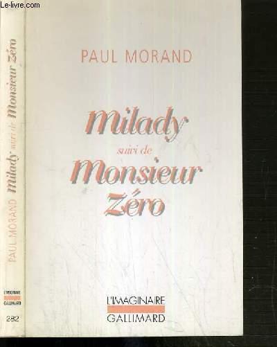 MILADY SUIVI DE MONSIEUR ZERO / COLLECTION L'IMAGINAIRE