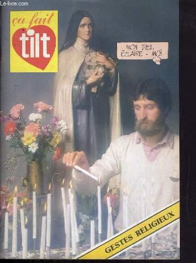 CA FAIT TILT - GESTES RELIGIEUX