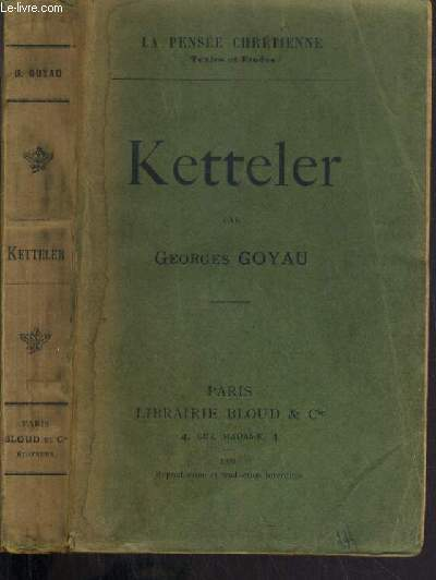 KETTELER / LA PENSEE CHRETIENNE