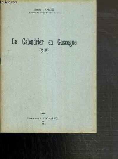 LE CALENDRIER EN GASCOGNE