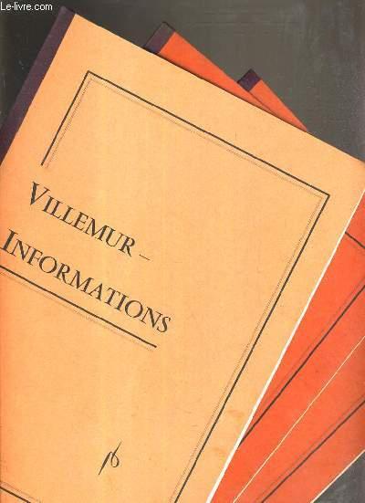 VILLEMUR-INFORMATION - N°1 - OCTOBRE 1977 - N°2 - MAI 1978 - N°3 - JANVIER 1979