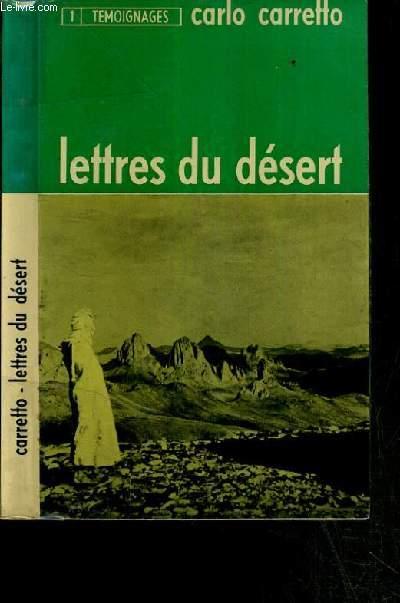 LETTRES DU DESERT / COLLECTION TEMOIGNAGES N°1 - 5ème EDITION.