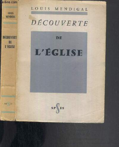 DECOUVERTE DE L'EGLISE