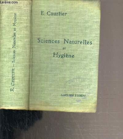 SCIENCES NATURELLES ET HYGIENE (CLASSES DE PHILOSOPHIE ET DE MATHEMATIQUES)