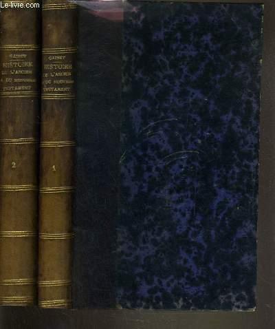 HISTOIRE DE L'ANCIEN ET DU NOUVEAU TESTAMENT PAR LES SEULS TEMOIGNAGES PROFANES - 2 TOMES - 1 + 2.
