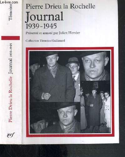 JOURNAL 1939-1945 / COLLECTION TEMOINS-GALLIMARD