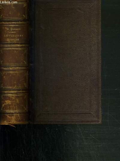 HISTOIRE DE LA LITTERATURE ROMAINE