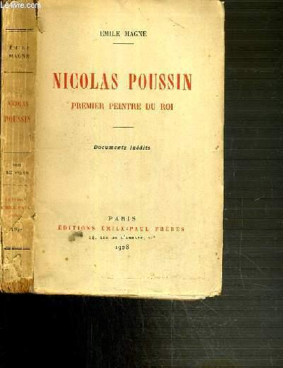 NICOLAS POUSSIN - PREMIER PEINTRE DU ROI