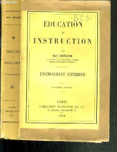 EDUCATION ET INSTRUCTION - ENSEIGNEMENT SUPERIEUR - 2ème EDITION