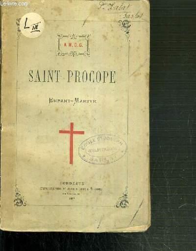 SAINT PROCOPE - ENFANT-MARTYR