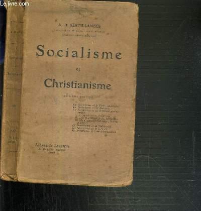 SOCIALISME ET CHRISTIANISME - 3ème EDITION.