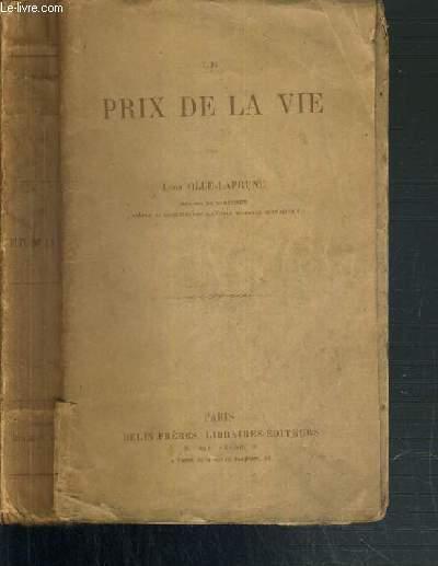 LE PRIX DE LA VIE - 40ème EDITION.