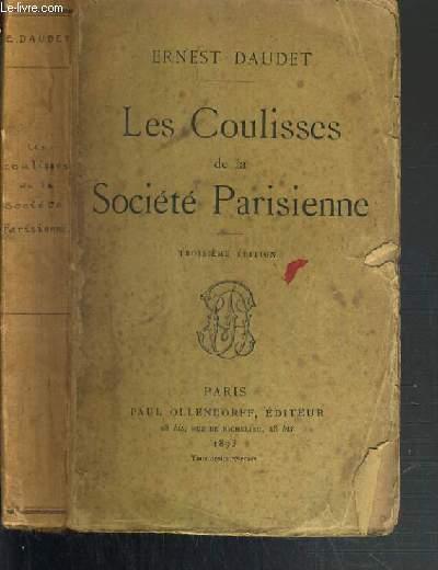 LES COULISSES DE LA SOCIETE PARISIENNE - 3ème EDITION