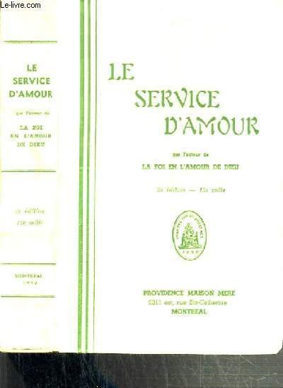 LE SERVICE D'AMOUR - 2ème EDITION.