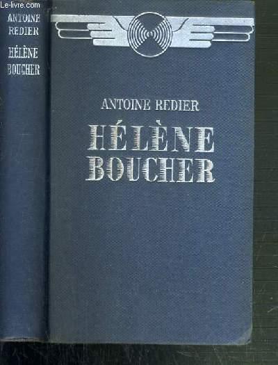 HELENE BOUCHER, JEUNE FILLE FRANCAISE.