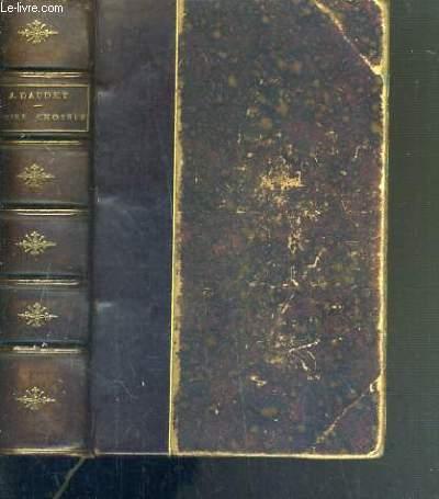 CONTES CHOISIS - LA FANTAISIE ET L'HISTOIRE / PETITE BIBLIOTHEQUE CHARPENTIER