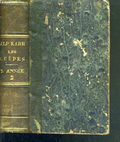 LES GUEPES - MARS + AVRIL + MAI + JUIN - 1841.
