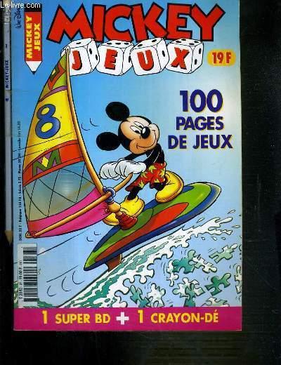MICKEY JEUX - 100 PAGES DE JEUX - N�97 - JUILLET/AOUT 2000 + 1 CRAYON -
