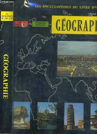 LES ENCYCLOPEDIES DU LIVRE D'OR - GEOGRAPHIE