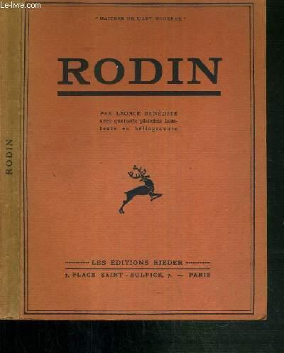 RODIN / MAITRES DE L'ART MODERNE.