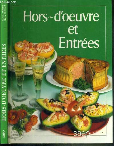 HORS-D'OEUVRE ET ENTREES