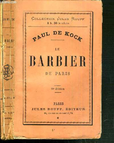 LE BARBIER DE PARIS / COLLECTION JULES ROUFF