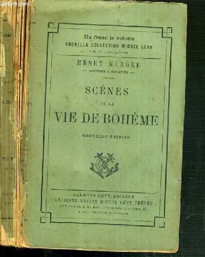 SCENE DE LA VIE DE BOHEME - NOUVELLE EDITION