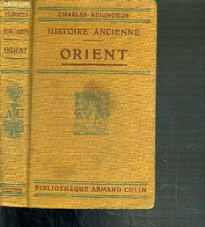 ORIENT - HISTOIRE ANCIENNE