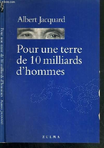 POUR UNE LETTRE DE 10 MILLIARDS D'HOMMES
