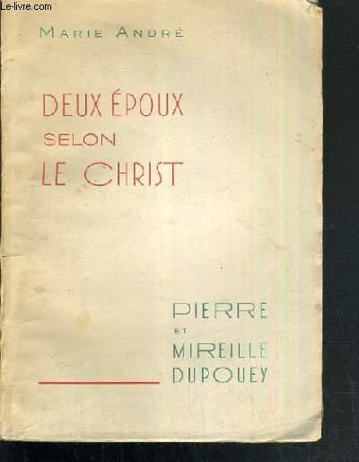 DEUX EPOUX SELON LE CHRIST