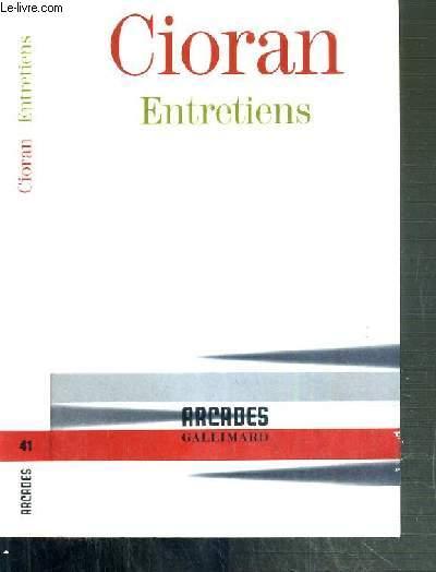 ENTRETIENS / COLLECTIONS ARCADES.