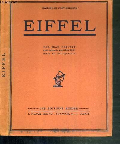 EIFFEL / MAITRES DE L'ART MODERNE