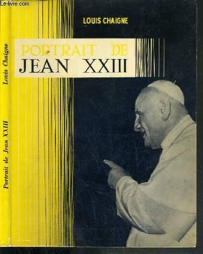 PORTRAIT DE JEAN XXIII
