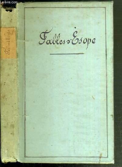 FABLES D'ESOPE / TEXTE EN GREC ET FRANCAIS